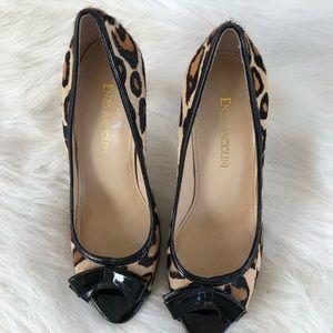 Enzo Angiolini Shoes - Enzo Angiolini Pony Hair leopard cheetah heels